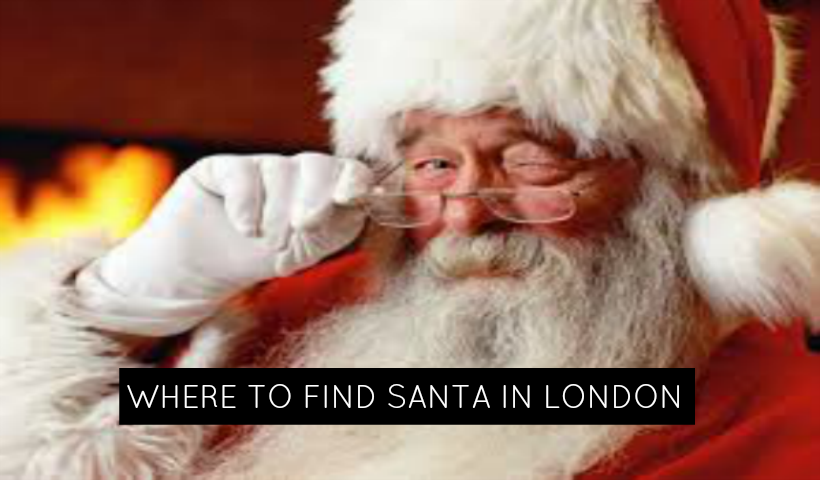 Where to See Santa in London, Ontario & Area